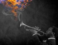 Jazz Photo Illustration