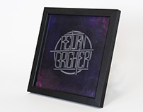 Return Brighter - Glass Etching