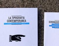 La tipografia contemporanea