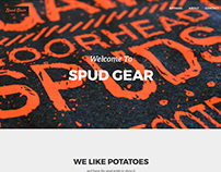 Spud Gear Website Redesign
