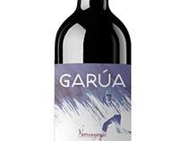 Etiqueta vino GARÚA