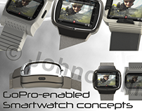 GoPro-enabled Smartwatch concepts