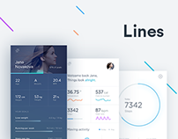 Lines activity tracker