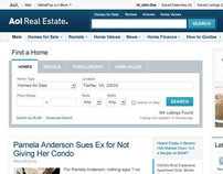 AOL Real Estate: Redesign