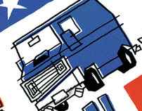 Gumball Rally Poster