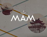 Mắm, restaurant branding, illustration & website