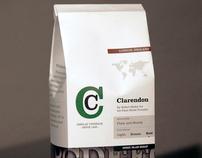 Type Specimen: Clarendon Coffee Bag
