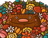 Flower bear