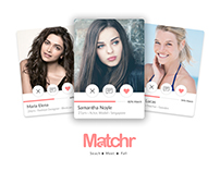 Matchr - Search • Meet • Fall Dating app