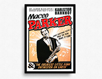 Maceo Parker – Gigposter