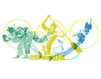 Olympic Games Collage