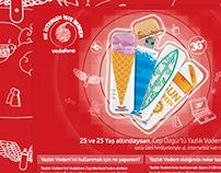 Vodafone Microsite