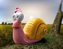 Snail - 3D