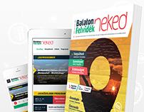 Balaton Felvidék Neked Magazin design