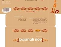 Basmati Rice Packaging