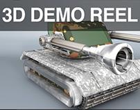 3D Demo Reel 2016