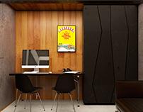 OK Music studio waiting hall