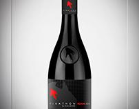 Wine-Pirathon Brand&Identity - Product Label