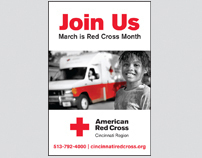 Red Cross Month Ads