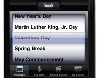BSU Dates iPod/iPhone Mobil Application