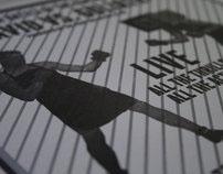Pixel vs. Printmaker Letterpress Print