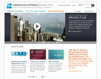 AMEX Brand Site