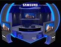 Stand Exhibidor Samsung