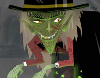 Dr Jeckyll & Mr. Hyde Character Designs