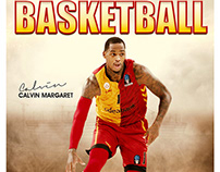 Basketball sports photography template