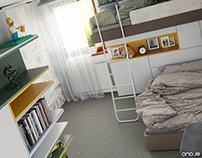 kid's room - rd slany