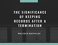 The Significance Of Keeping Employee Records