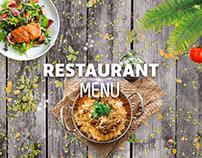 Restaurant Menu - Bait Almashwiat