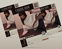 Free Fashion Show Flyer & Business Card Template