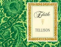 Tellison - Edith limited edith Vinyl single relase