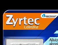 Diseño de Empaque y Logotipo Zyrtec