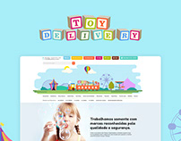 Loja virtual • Toy Delivery