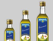 Monarch Oil Label design