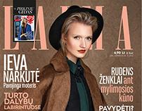 """Laima"" magazine editorial"