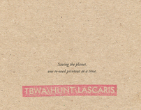 TBWA recycled notepads