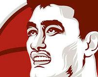 Yao Ming Portrait