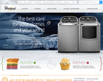 Whirlpool.com / E-commerce / Experience Design+Strategy