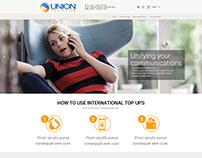 Redesign UnionTelecom Site