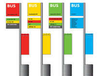City bus stops - TRENCIN