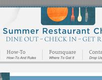 Summer Restaurant Challenge