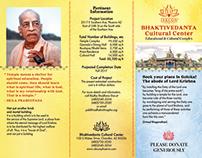 Brochure/Брошюра для Храма Радхи и Кришны в Аризоне