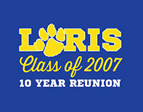 High School Reunion Logo