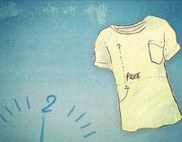 Motion DDA Bradesco Via SMS - Camiseta