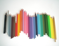 Modern Manuscript - Pencil Crayons