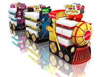 Mattel - Tren multimarca