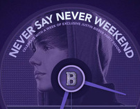 Justin Bieber's Never Say Never Weekend